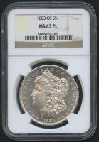 1883-CC $1 Morgan Silver Dollar (NGC MS 63 PL)