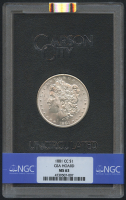 1881-CC $1 Morgan Silver Dollar (NGC MS 63) at PristineAuction.com