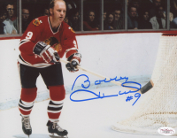 Bobby Hull Signed Chicago Blackhawks 8x10 Photo (JSA COA)