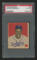 1949 Bowman #50 Jackie Robinson RC (PSA 4) at PristineAuction.com
