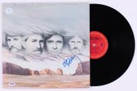"""Willie Nelson Signed """"Highwayman"""" Vinyl Record Album (PSA COA)"""