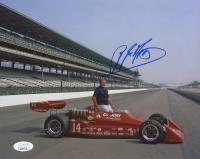 A.J. Foyt Signed IndyCar 8x10 Photo (JSA COA)