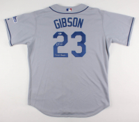 "Kirk Gibson Signed Dodgers Jersey Inscribed ""88 WS Champs"" (Beckett COA) at PristineAuction.com"