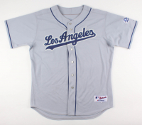 """Kirk Gibson Signed Dodgers Jersey Inscribed """"88 WS Champs"""" (Beckett COA) at PristineAuction.com"""