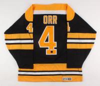 "Bobby Orr Signed LE Boston Bruins Jersey Inscribed ""3x MVP"" (Orr COA & PSA COA)"