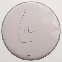 """Lars Ulrich Signed 10.5"""" Drumhead (PSA COA) at PristineAuction.com"""