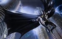 """Greg Horn Signed """"Batman"""" 11x17 Lithograph (JSA COA)"""