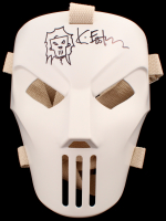 "Kevin Eastman Signed TMNT ""Casey Jones"" Authentic NECA Full-Size Mask with Hand-Drawn Casey Jones Sketch (PA COA) at PristineAuction.com"