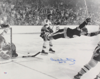 """Bobby Orr Signed Bruins 1970 Stanley Cup 16x20 Photo Inscribed """"HOF '79"""" (PSA COA) at PristineAuction.com"""