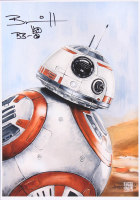 "Brian Herring Signed Thang Nguyen - BB-8 - ""Star Wars"" 8x12 Limited Edition Giclee on Fine Art Paper #/100 at PristineAuction.com"