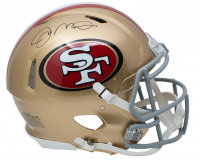 Joe Montana Signed San Francisco 49ers Full-Size Authentic On-Field Speed Helmet (JSA COA) at PristineAuction.com