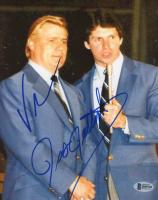 Vince McMahon & Pat Patterson Signed WWE 8x10 Photo (Beckett COA)