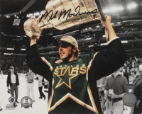 Mike Modano Signed Dallas Stars 8x10 Photo (Schwartz COA)