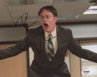 "Rainn Wilson Signed ""The Office"" 8x10 Photo (PSA COA)"