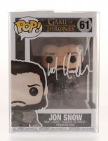 "Kit Harington Signed ""Game of Thrones"" #61 Jon Snow Funko Pop Figure (Radtke COA) at PristineAuction.com"