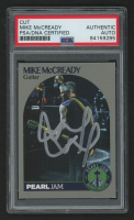 Mike McCready Signed Pearl Jam Trading Card (PSA Encapsulated) at PristineAuction.com