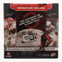 2009 Press Pass Signature Edition Football Hobby Box at PristineAuction.com