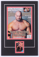 Bill Goldberg Signed 12x18 Custom Matted Card Display with Photo (Palm Beach COA)