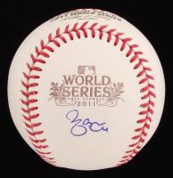 Yadier Molina Signed 2011 World Series Baseball (MLB Hologram)
