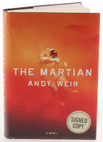 """Matt Damon & Andy Weir Signed """"The Martian"""" Hardcover Book (PSA Hologram) at PristineAuction.com"""
