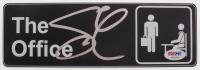 "Steve Carell Signed ""The Office"" Replica Door Sign (PSA COA)"