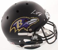 Lamar Jackson Signed Baltimore Ravens Full-Size Matte Black Helmet (JSA COA)