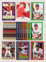 Lot of (22) Baseball Rookie Cards with Mike Trout, Shohei Ohtani & Vladimir Guerrero Jr. at PristineAuction.com