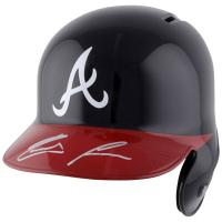 Ronald Acuna Jr. Signed Atlanta Braves Full-Size Batting Helmet (Fanatics Hologram)