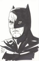 """Tom Hodges - Batman - DC Comics Signed ORIGINAL 5.5"""" x 8.5"""" Drawing on Paper (1/1)"""