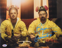 "Bryan Cranston & Aaron Paul Signed ""Breaking Bad"" 11x14 Photo (PSA COA)"