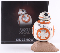 "Brian Herring Signed Disney ""Star Wars: The Force Awakens"" Sideshow Premium Format Limited Edition BB-8 Figure Inscribed ""BB-8"" with Hand-Drawn BB-8 Sketch (PA COA) at PristineAuction.com"