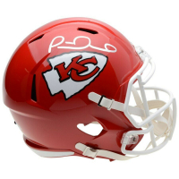 Patrick Mahomes Signed Kansas City Chiefs Full-Size Speed Helmet (Fanatics Hologram) at PristineAuction.com