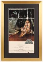"""Star Wars: Episode IV -  A New Hope"" 17x25 Custom Framed Movie Poster Display"