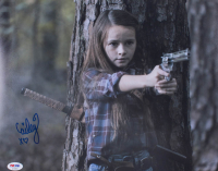 """Cailey Fleming Signed """"The Walking Dead"""" 11x14 Photo (PSA COA) at PristineAuction.com"""