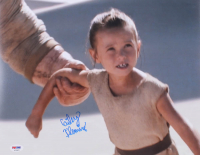 """Cailey Fleming Signed """"Star Wars: The Force Awakens"""" 11x14 Photo (PSA COA)"""