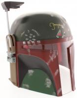 "Jeremy Bulloch Signed ""Star Wars"" Boba Fett Full-Size Helmet (JSA COA)"