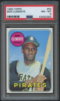 1969 Topps #50 Roberto Clemente (PSA 8) at PristineAuction.com