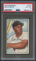 1952 Bowman #218 Willie Mays (PSA 4)