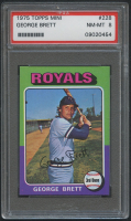 1975 Topps Mini #228 George Brett RC (PSA 8) at PristineAuction.com