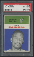 1961-62 Fleer #38 Bill Russell (PSA 6) at PristineAuction.com