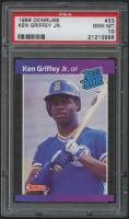 1989 Donruss #33 Ken Griffey Jr. RR RC (PSA 10)