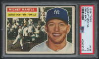 1956 Topps #135 Mickey Mantle (PSA 3)