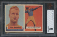 1957 Topps #151 Paul Hornung RC (BVG 6) at PristineAuction.com