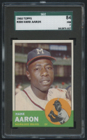 1963 Topps #390 Hank Aaron (SGC 7) at PristineAuction.com