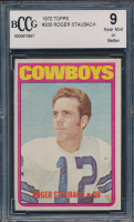 1972 Topps #200 Roger Staubach RC (BCCG 9)
