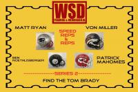 WSD Full Size Helmet Mystery Box Series 2 - Autographed Football Helmet Series #/100