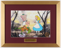"Walt Disney's ""Alice in Wonderland"" 15x19 Custom Framed Animation Serigraph Display"