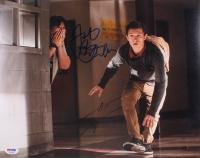"Tom Holland & Jacob Batalon Signed ""Spider-Man: Homecoming"" 11x14 Photo (PSA COA) at PristineAuction.com"