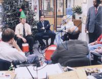 "Steve Carell & Rainn Wilson Signed ""The Office"" 11x14 Photo (PSA COA) at PristineAuction.com"
