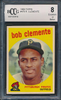 1959 Topps #478 Roberto Clemente (BCCG 8) at PristineAuction.com
